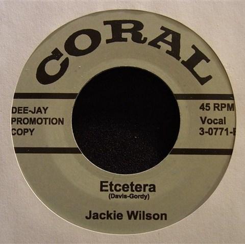 """JACKIE WILSON / ETCETERA (7"""")"""