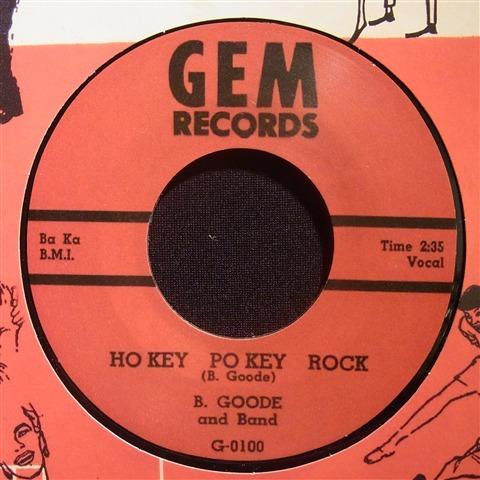 "B.GOODE / HO KEY PO KEY RCK (7"")"