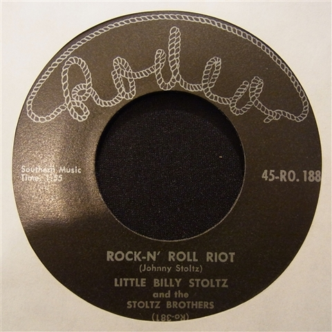 "STOLTZ BROTHERS / ROCK-N' ROLL RIOT (7"")"