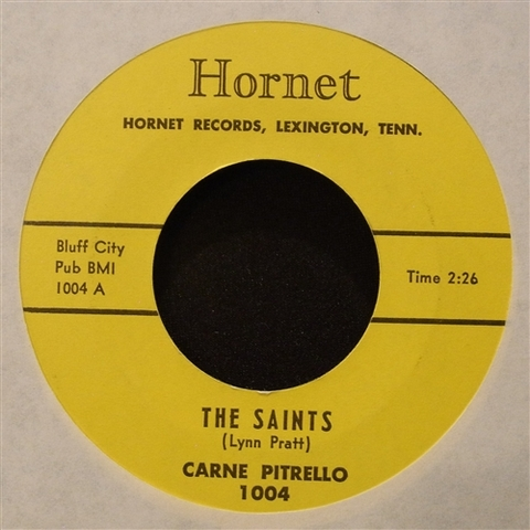 "CARNE PITRELLO / THE SAINTS (7"")"