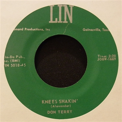 "DON TERRY / KNEES SHAKIN' (7"")"
