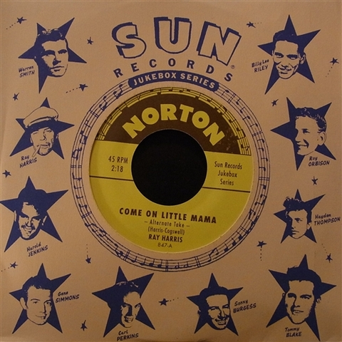 "RAY HARRIS / COME ON LITTLE MAMA (7"")"