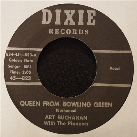 "ART BUCHANAN / QUEEN FROM BOWLING GREEN (7"")"