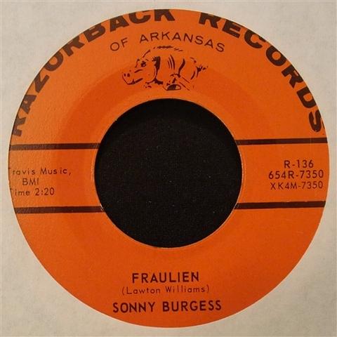 "SONNY BURGESS / FRAULIEN (7"")"