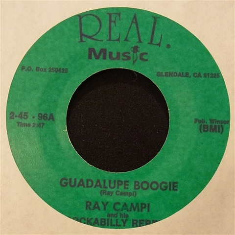 "RAY CAMPI / GUADALUPE BOOGIE (7"")"