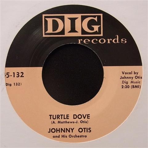 """JOHNNY OTIS / TURTLE DOVE (7"""")"""