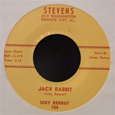 """ICKY RENRUT / JACK RABBIT (7"""")"""