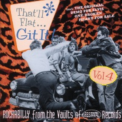 V.A / THAT'LL FLAT GIT IT VOL.4 (CD)