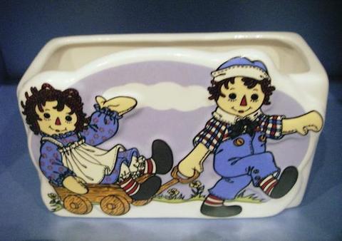 アン&アンディ セラミックプランター ワゴン