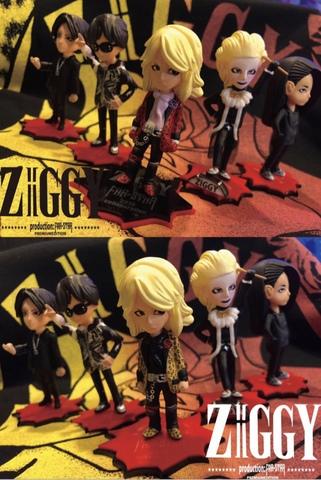 ZIGGY プレミアム限定コレクションフィギュア 一次受付