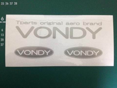 VONDYステッカー