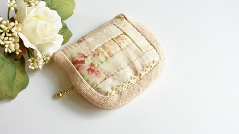 【Madre】patchwork mini pouch s(A)