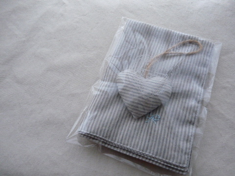 【Fioretto】luncheon mat&sachet set