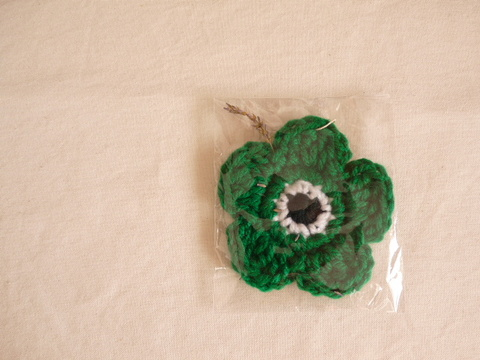 【Madre】eco tawashi(green‐flower)Ⅱ