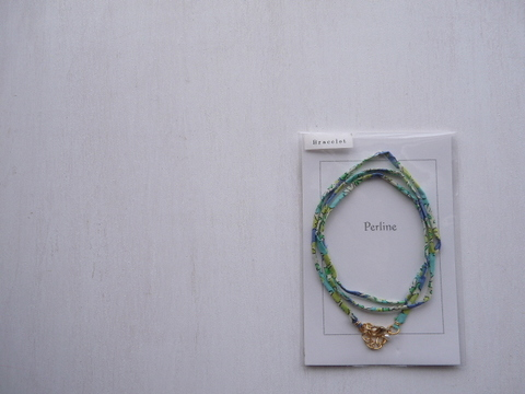 【Perline】Liberty bracelet <blue>