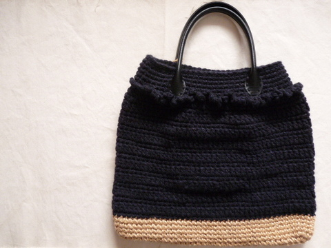 【Madre】hand bag(black)
