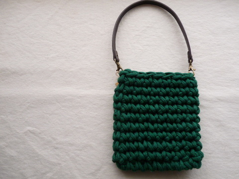【Madre】mini bag(green)