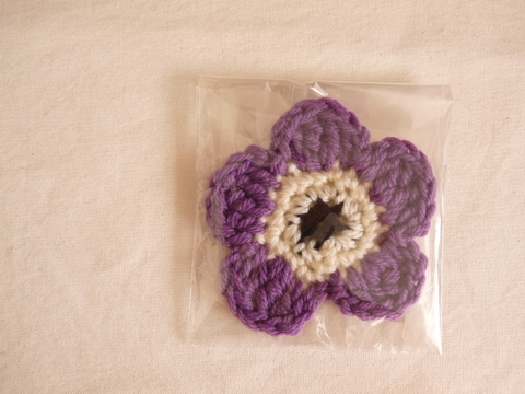 【Madre】eco tawashi(purple‐flower)