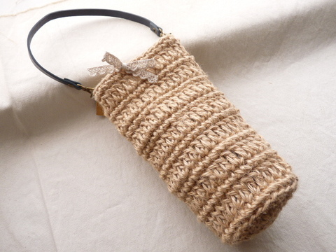 【Madre】pet bottle bag(ribbon)