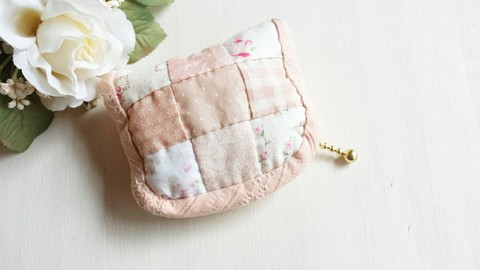 【Madre】patchwork mini pouch