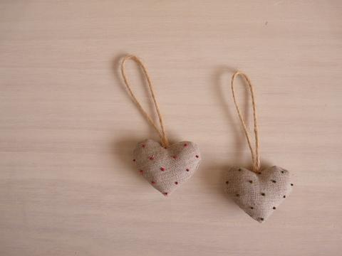 【Fioretto】heart dot sachet