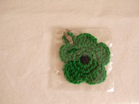 【Madre】eco tawashi(green‐flower)Ⅰ