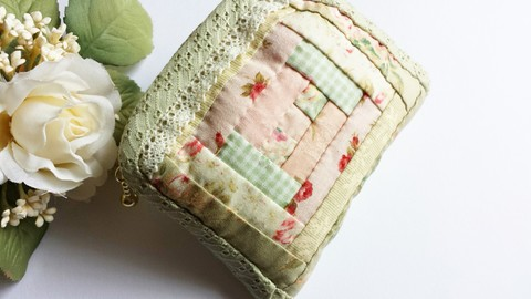 【Madre】patchwork pouch(S)