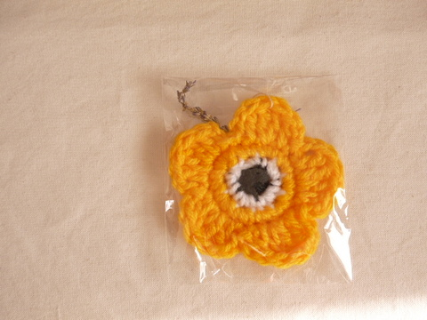 【Madre】eco tawashi(yellow‐flower)