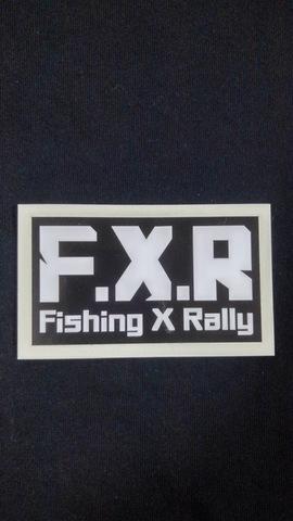 【耐水】ステッカー F.X.R