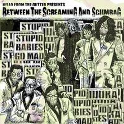 "Idora & Stupid Babies Go Mad - Split""Between The Screaming And Scumbag (7"")"