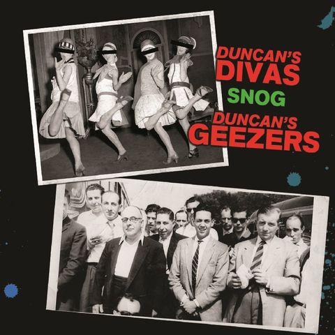Duncan's Divas / Duncan's Geezers - Snog (CD)