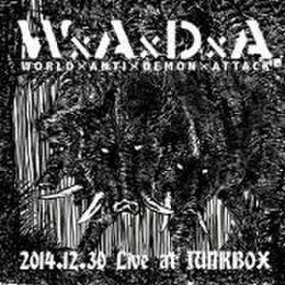 WxAxDxA - 2014.12.30 Live at Junkbox (CD)
