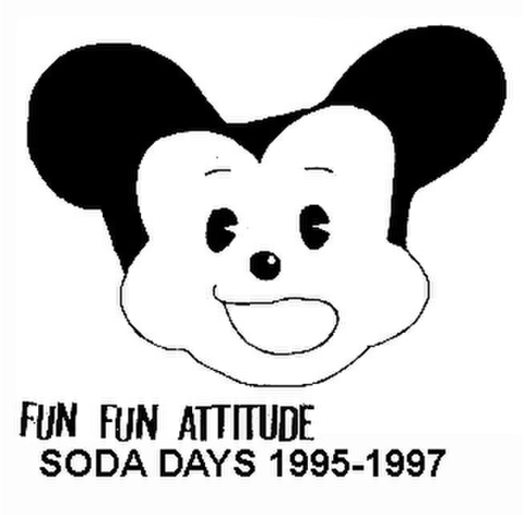 Fun Fun Attitude - Soda Days '95-'97 (CD)