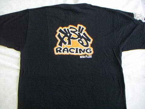 GABURU RACING Tシャツ 黒