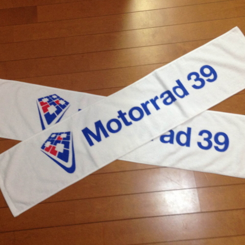 Motorrado39 マフラータオル