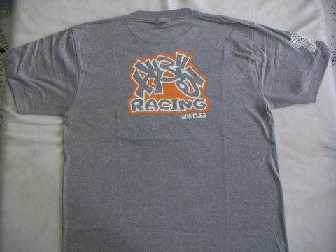 GABURU RACING Tシャツ グレー