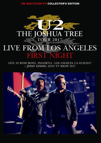 U2/(DVD-R)THE JOSHUA TREE TOUR 2017: LIVE FROM LOS ANGELES- FIRST NIGHT[21892]
