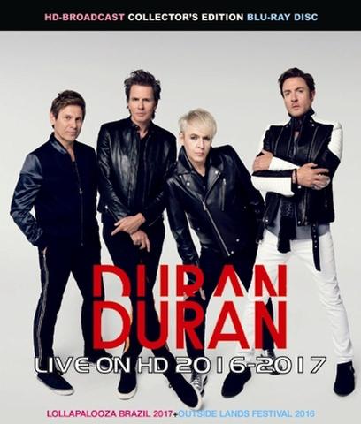 DURAN DURAN/(BD-R)LIVE ON HD 2016-2017[21844]