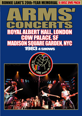 ERIC CLAPTON/JEFF BECK/JIMMY PAGE/(6DVD-R)ARMS CONCERTS 1983[21847]