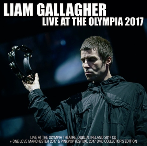LIAM GALLAGHER/(CD-R+DVD-R)LIVE AT THE OLYMPIA 2017[21901]