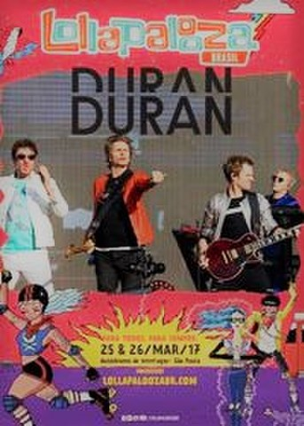 DURAN DURAN/(DVD-R)LOLLAPALOOZA BRAZIL 2017[21852]