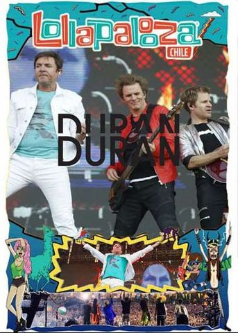 DURAN DURAN/(DVD-R)LOLLAPALOOZA CHILE 2017[21850]