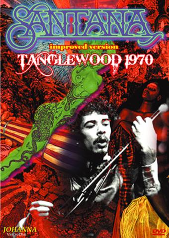 SANTANA/(DVD-R)TANGLEWOOD 1970 IMPROVED VERSION[21894]