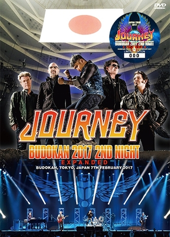 JOURNEY/(DVD+2CD)BUDOKAN 2017 2ND NIGHT EXPANDED[21861]