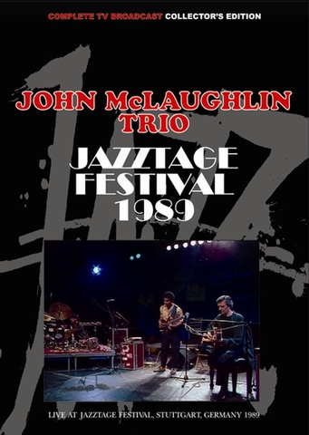 JOHN McLAUGHLIN TRIO/(DVD-R)JAZZTAGE FESTIVAL 1989[21938]
