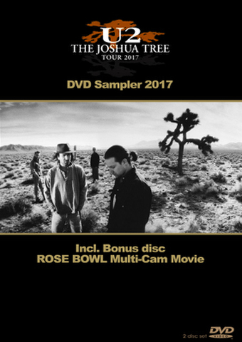 U2/(2DVD-R)THE JOSHUA TREE 30TH ANNIVERSARY DVD SAMPLER 2017[21899]