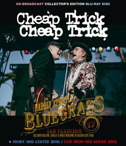 CHEAP TRICK/(BD-R)HARDLY STRICTLY BLUEGRASS FESTIVAL 2017[21979]
