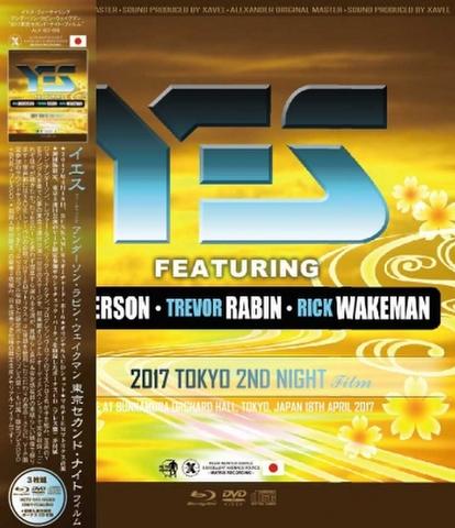 YES FEATURING ARW/(DVD+BD-R+CD)2017 TOKYO 2ND NIGHT FILM[21891]