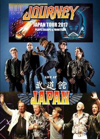 JOURNEY/(DVD-R)JAPAN TOUR -PLAYS ESCAPE & FROTIERS-[21838]
