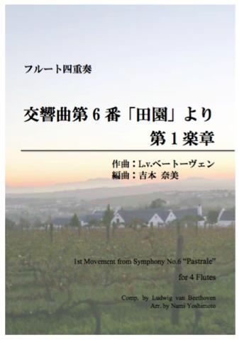 ④「田園」より第1楽章/ベートーヴェン/フルート四重奏